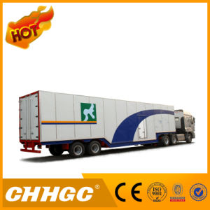 ISO CCC 3 Axle Van/Box Trailer pictures & photos