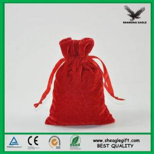 Small Velour Jewelry Bags Custom Made Size Design Logo pictures & photos