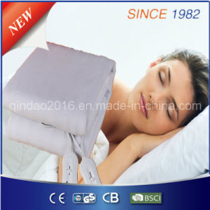 with LED Digital Indicator 220-240V Polyester Electric Massage Blanket pictures & photos