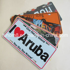 Customized Aluminum Souvenir Craft, Poster Metal Card pictures & photos
