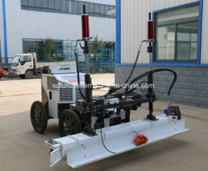 Fjzp-220 Four Wheel Hydraulic Concrete Laser Land Leveling Machines pictures & photos