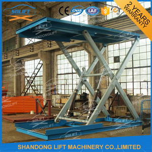 3t Hydraulic electric car lift for home garage or parking with hot dip galvanized PLATFORM pictures & photos