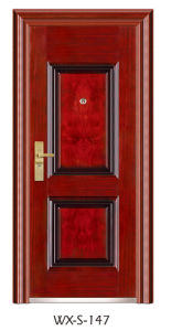 High Quality Steel Security Door (WX-S-147) pictures & photos