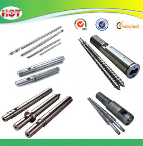 Screw and Barel for Plastic Extruder Machine pictures & photos