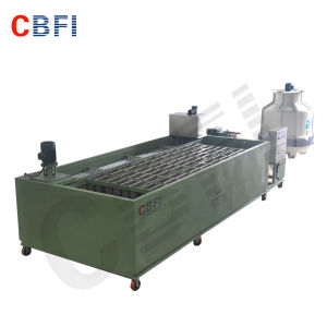 Coil Tube Evaporator Type Block Ice Machine for Africa Market pictures & photos