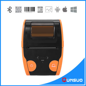 Mini Portable Android Bluetooth Printer Machine