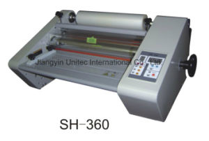 Popular Sale Thermal Roll Laminator/One Sided Laminator Sh-360/Sh-450 pictures & photos