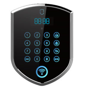 Touch Keypad Wolf Guard 3G Security Alarm with WiFi Camera (YL-007WM2) pictures & photos