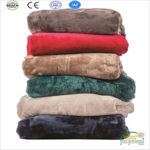 Wholesale Luxury Waterproof Coral Fleece Warm Pet Blanket pictures & photos