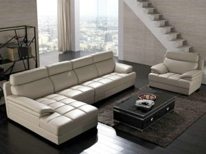 Sofas in Leather, Leather L Shaped Sofa pictures & photos
