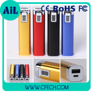 Quick Charge Digital Display Mobile Battery with LED Light