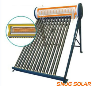 Solar Energy Hot Water Heater with Copper Coil pictures & photos