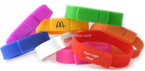 Cheapest and High Quality Silicone Wristband USB Flash Drive, Bracelet Pen Drive/USB Disk