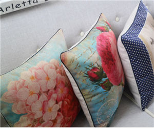 Beautiful Home Garden Decoration Waist Cotton Set Model Cushion Pillow pictures & photos