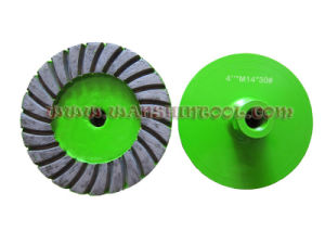 Metal Base Turbo Cup Wheel for Granite pictures & photos