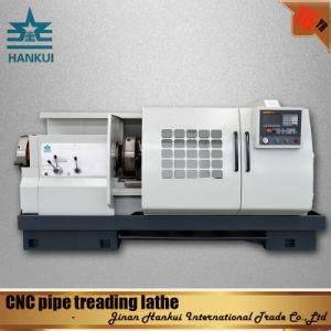 Qk1322 Auto CNC Pipe Thread Lathe Machine pictures & photos