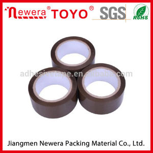 40micx48mmx100m Adhesive Brown Tape pictures & photos