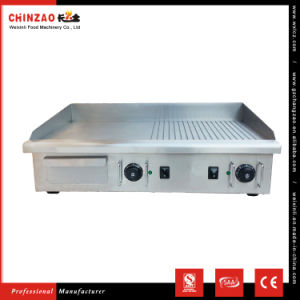 73cm Large Counter Top Stainless Steel Commercial Electric Griddle Ce Certifed pictures & photos