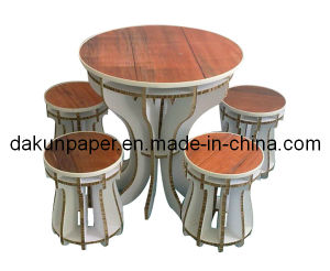 Honeycomb Paper Table and Chair Set (DKPF121039)