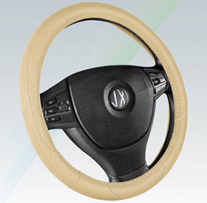 PVC with PU Steering Wheel Cover (BT7345C) pictures & photos