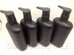 Matte Black Pet Bottle for Shampoo Container for Men pictures & photos