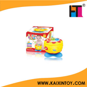 Novelty Kids Plastic Music Instrument Toy B/O Mini Drum Toy Music Toy pictures & photos