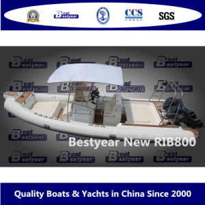 Bestyear Rigid Inflatable Boat of Rib800 pictures & photos