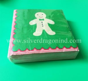 Personalized Printed Paper Napkins for Party Decorated pictures & photos