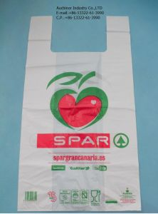 Singlet T Shirt Shopping Plastic Bags with Own Logo pictures & photos