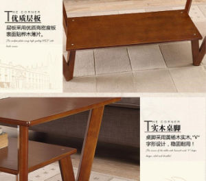 Solid Poplar Wood Desk Modern Desk Living Room Desk Tea Table Fashion Tea Table (M-X2034) pictures & photos