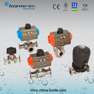 Pneumatic Sanitary Valve pictures & photos