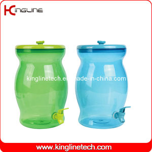 2.5 Gallon Water Plastic Jug Wholesale BPA Free with Spigot (KL-8017) pictures & photos