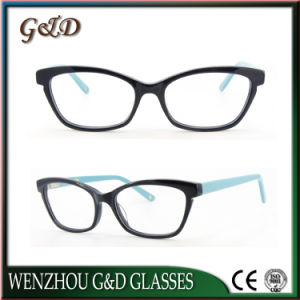Latest New Design Acetate Eyewear Eyeglass Optical Frame 49-513 pictures & photos