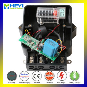 Electric Energy Meter for Single Phase Wenzhou Manufacturer 240V 10/100A pictures & photos