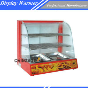 Glass 3 Layer Food Display Warmer pictures & photos