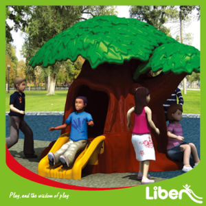 Indoor Playground Equipment Kids Playhouse with Slide (LE. WS. 075.01) pictures & photos