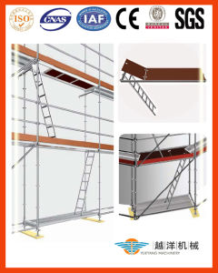 Scaffolding System-Aluminium Work Platform Ladder pictures & photos