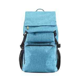 New Blue Practical Canvas Sport Backpack (MBNO038079) pictures & photos