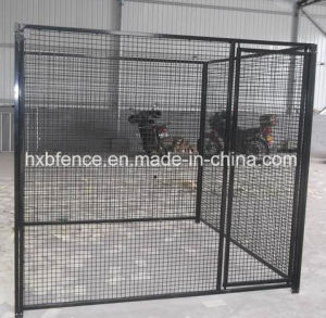 PVC Coated or Powder Coated Square Tube Outdoor Dog Cage pictures & photos