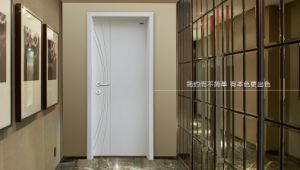 High Quality Interior Engineer Flush Wooden Door for Living Room/Flush Door with PU Painting pictures & photos