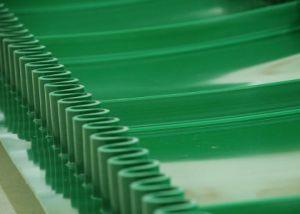 Good Elasticity Ruffled PVC Conveyor Belt pictures & photos