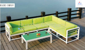 Outdoor Patio Patio Sectional Furniture PE Wicker Rattan Sofa Set Deck Couch pictures & photos