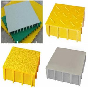 FRP Grating with Cover / GRP Grating with Gritty Cover pictures & photos