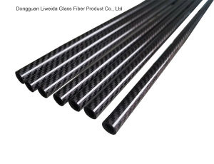 3k Roll Wrapping Carbon Fiber Pipe/Pole Carbon Fibre Tube