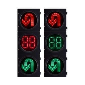 Good Quality LED Traffic Signal Heads Aluminum Housing
