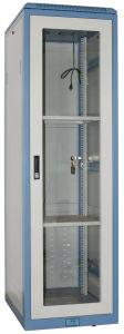 We2 Network Cabinet with Glass Front Door