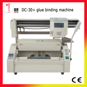 Offical Supplier! ! ! DC-30+ Desktop Perfect Glue Book Binding Machine pictures & photos