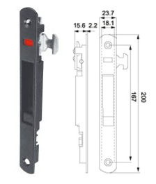 Window Lock (WL-02) for Aluminum Sliding Window pictures & photos