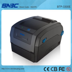 (BTP-3300E) 106mm USB Serial Parallel Ethernet WLAN Direct Thermal Transfer Label Barcode Printer