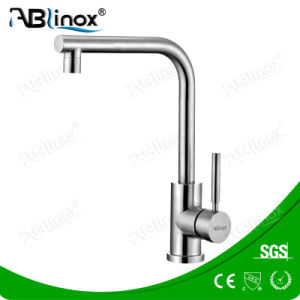 Stainless Steel Single Handle Upc Kitchen Faucet (AB111) pictures & photos
